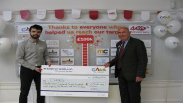 CHAS Wall Cheque