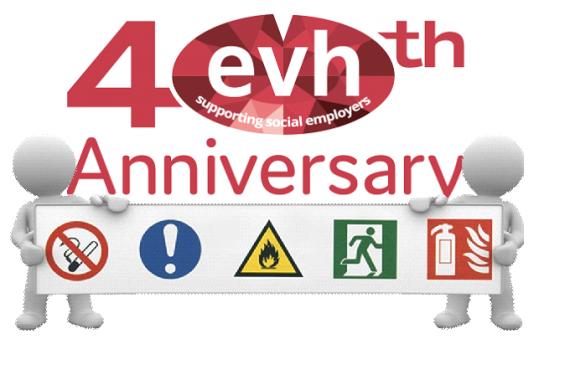 HS 40th Logo